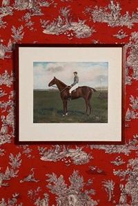 le jockey à l'hippodrome by r.a. miley