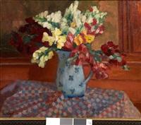bouquet de fleurs au pichet by lucien vogt