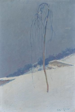 winter by guy rose