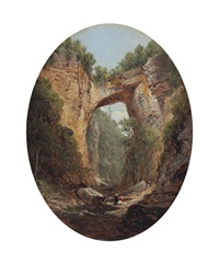 natural bridge, virginia by david johnson