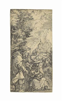 the rest on the flight into egypt by albrecht altdorfer