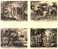 the four seasons (views of castles in the vicinity of amsterdam) by hessel gerrits