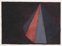 asymmetrical pyramid by sol lewitt