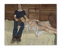 julie and martin by lucian freud