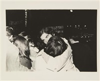 'the kiss', new york by weegee