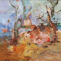 l.c.v by cecily brown