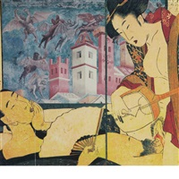 erotic figures in japanese art shunga by león ferrari