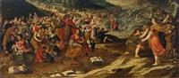 der zug der israeliten durch das rote meer by hans jordaens iii