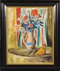 kwiaty w wazonie by waclaw wasowicz