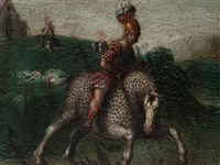 saint george by johann (hans) konig