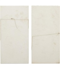 untitled (2 works) by mira schendel