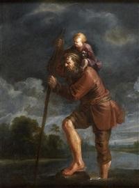 saint christophe by jan van de venne