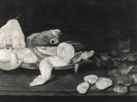 a still life of fish by alexander adriaenssen