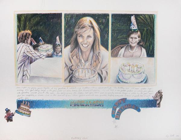 birthday girl by d.j. hall