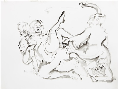 artwork by cecily brown