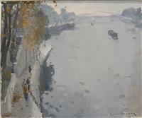 quai de seine by paul jean anderbouhr