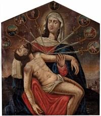pietà und die sieben schmerzen mariens, mit ausblick auf jerusalem by austrian school-tyrolean (17)