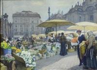 blumenmarkt am hof by ferdinand kruis