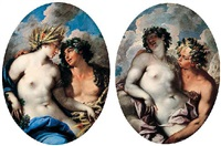 bacchus and ceres by federico cervelli