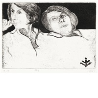 41 etchings and drypoints by richard diebenkorn
