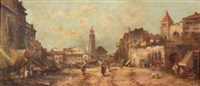 the market begins to stir by jules henri veron-fare