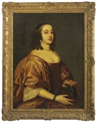 portrait of lady mary montgomerie by john hayls