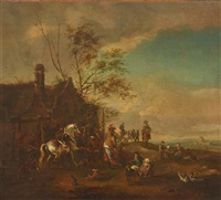 the farriery by pieter wouwerman