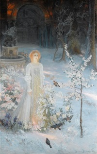 the snow maiden by casimir stabrovsky