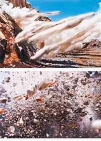 1. blast n.5707, 2. blast n.5316 by naoya hatakeyama