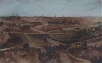 vue panoramique de jérusalem by d. henry