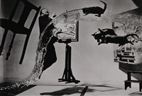 dali atomicus from portfolio 78 by philippe halsman