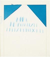 banderinha azul by mira schendel