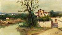 paisaje ribereño by antonio jardines
