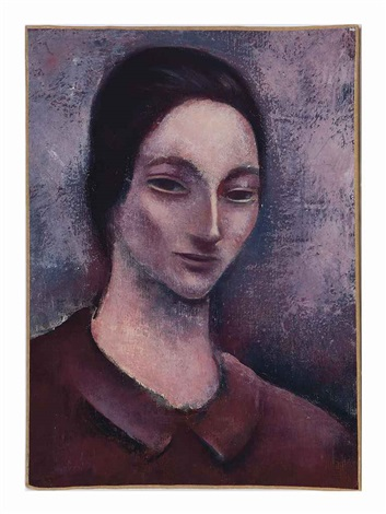 head of a woman by joseph floch