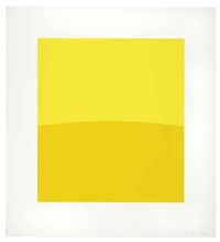 two yellows by ellsworth kelly