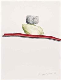 rocks nevada by david hockney