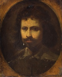retrato de caballero by simon vouet