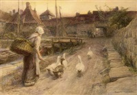 the little goose-herd by william gilbert foster