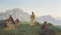 the bedouin musician by gustave clarence rodolphe boulanger