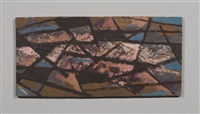 abstrakte komposition by erhard hippold