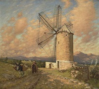 a spanish mill by henry herbert la thangue