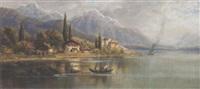 seelandschaft by alois toldt