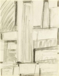 relational painting (preliminary study) by fritz glarner