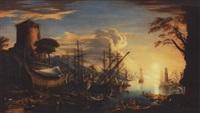 vaisseaux au carénage by gregorio fidanza