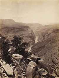 the grand canon, to-ro-wip valley, colorado river, usa by john k. hillers