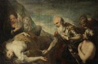 the sacrifice of jeptha by andrea celesti