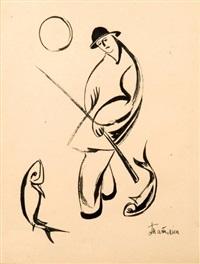 le pêcheur au clair de lune by vladimir tatlin