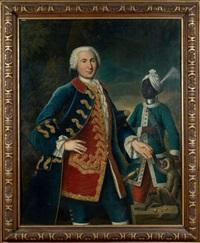 le capitaine de vire-du-liron-de-montivers aux indes by francois dagobert jouvenet