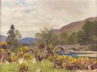 loch fyne, near douglas bridge by george houston