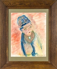 head of a girl by frances mary hodgkins